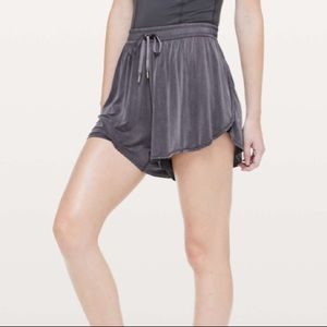 RARE Lululemon Principle Dancer Shorts Black